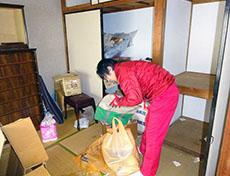太宰府市の遺品整理作業前01